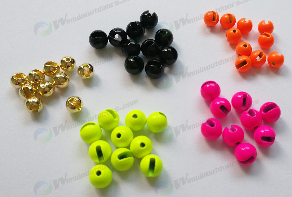 Slotted Tungsten Bead
