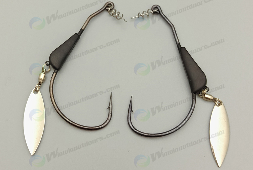 Tungsten Bladed Swim bait Hook