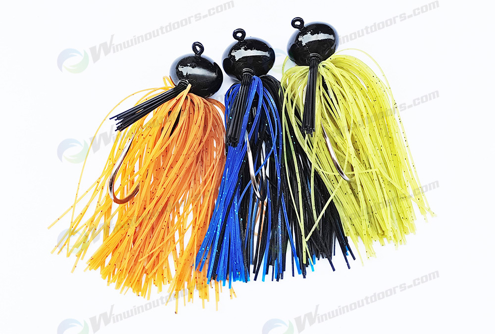 Tungsten Resin Football Jig