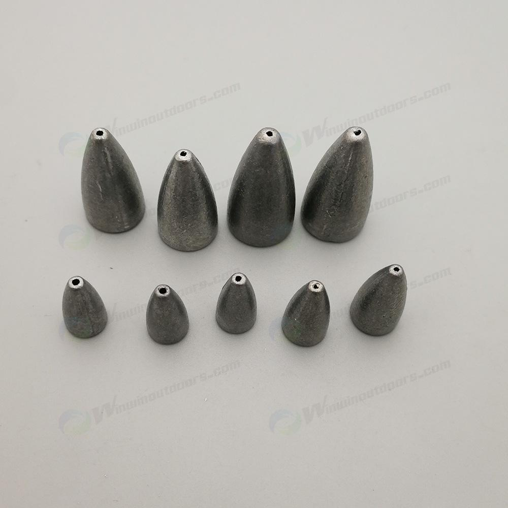lead bullet fishing weight