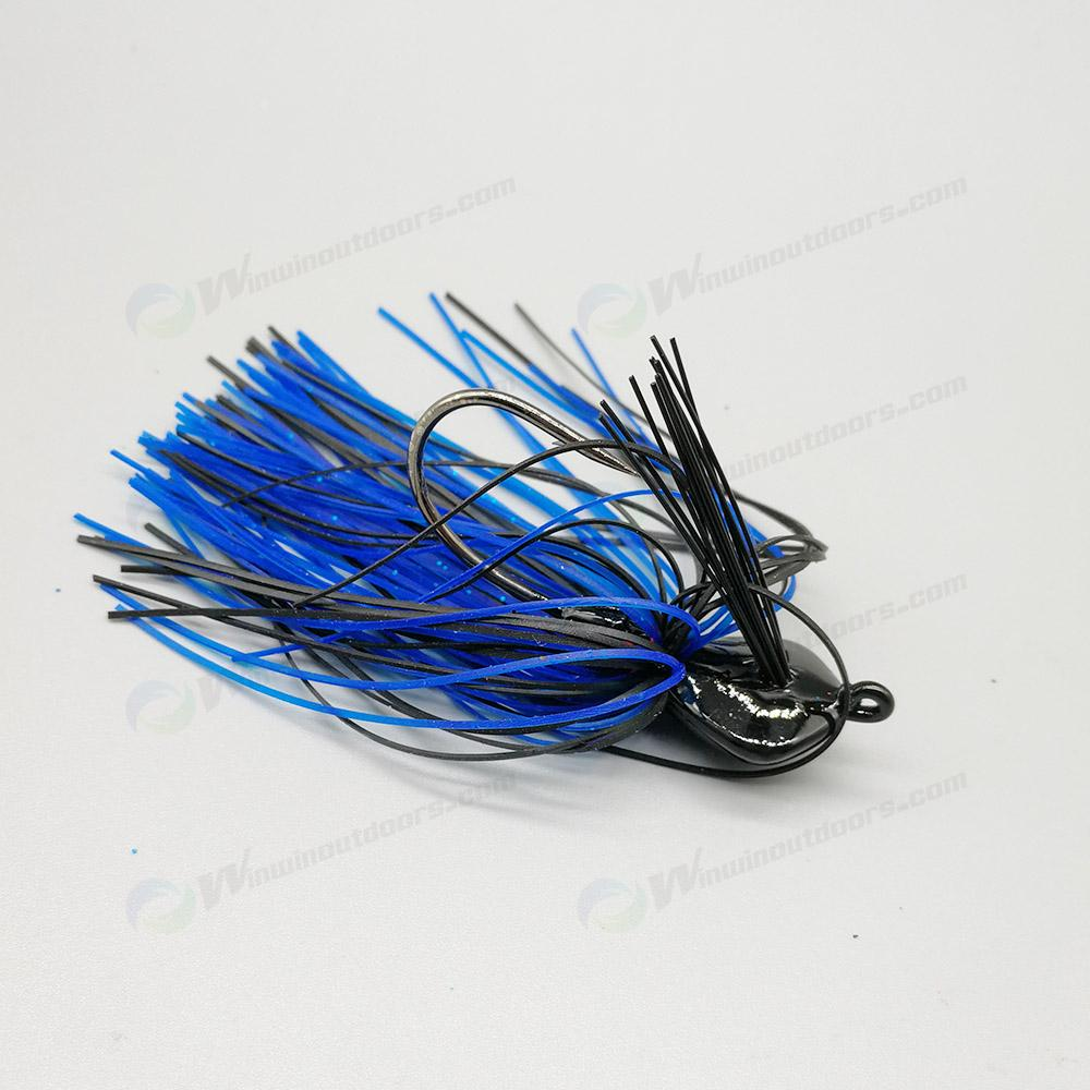 Skirted  lead ball Jig Head  3004